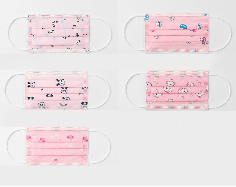 DHL Disposable Mask Child Mask Multiple Choices Children Cartoon Face Mask Animal Character Mouth Cover Boy Girl Kids