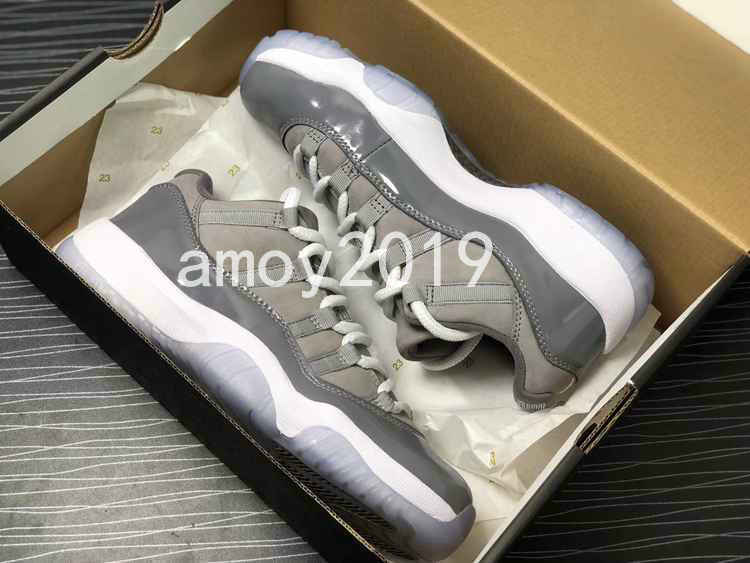 Cool Grey 11 Low Easter Bred Men Basketball Shoes 11s Closing Ceremony Sports Mens Trainers Athletics Concord Sneakers Size 7-13