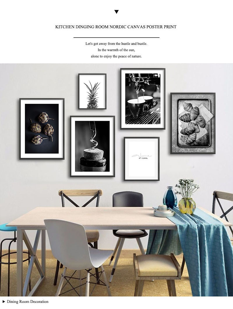 2020 Coffee Wine Bead Poster Black White Food Drink Kitchen Wall Art Print Simple Canvas Painting Modern Picture Dining Room Decor From Goodcomfortable 3 32 Dhgate Com