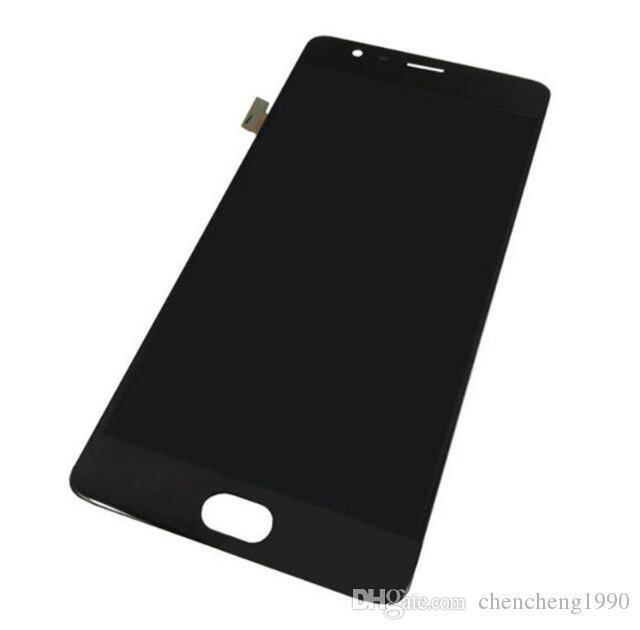 For One Plus 3 A3000 A3003 A+++ Original New Test LCD Touch Screen Digitizer Assembly Black White