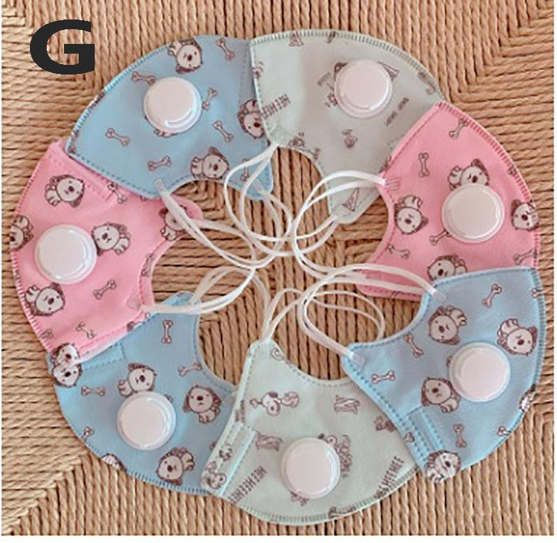 Fashion Kids And Adult Face Masks With Breathing Valve Designer Mask Dustproof Earloop Protective Masks 6 Styles HH9-3070