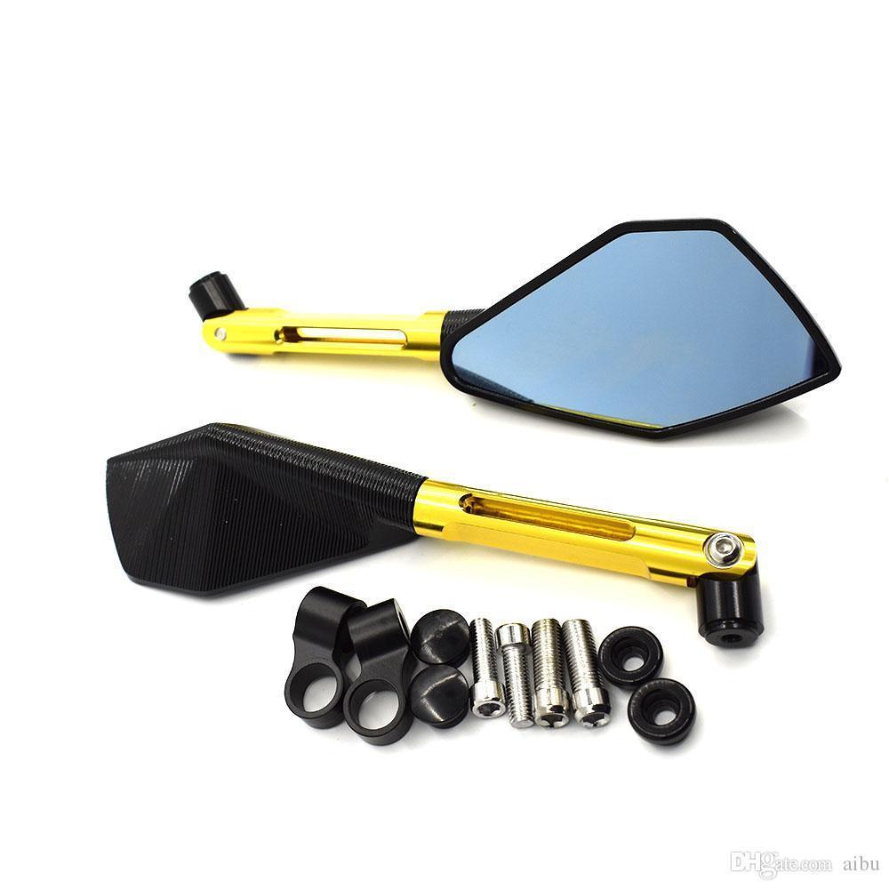 For CNC Aluminum Mirrors Accessories Motorcycle Rearview Mirror For Suzuki Boulevard C50 C90 S40 S50 S83 M50 M90 M109R C109R