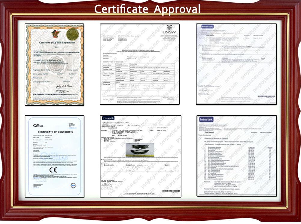 Certificate Approval pengbo