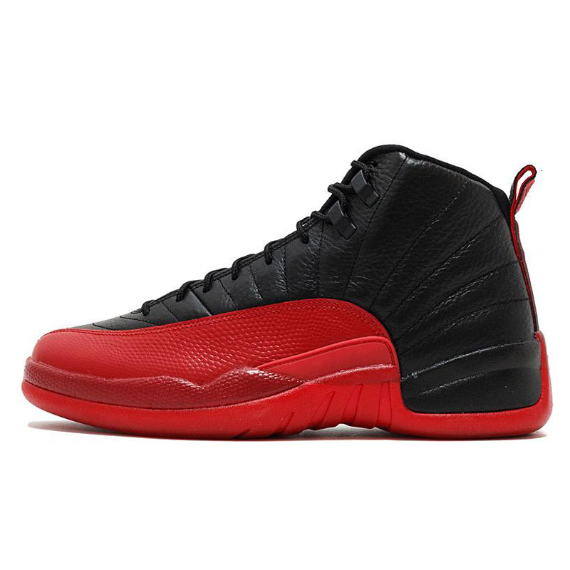 Jumpman 12s Men Basketball Shoes Trainers Reverse Taxi 12 Black Dark Grey Flu game CNY Taxi