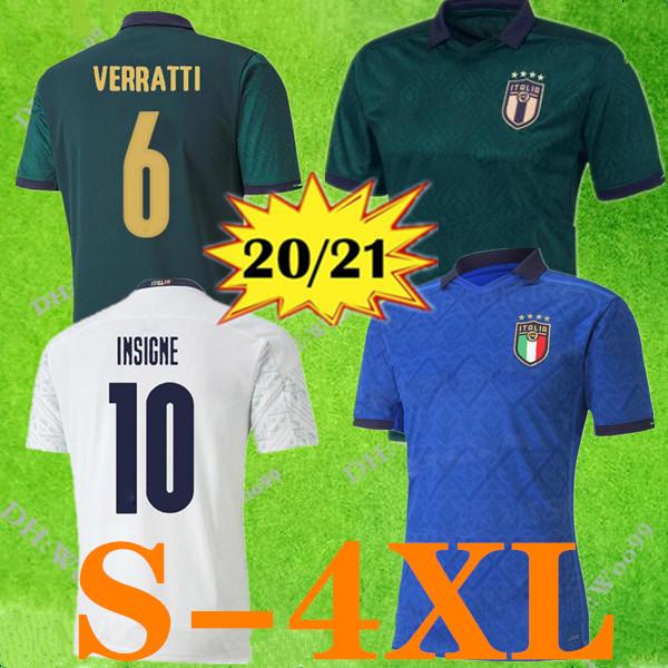 ITALIA Away Camicia 2020/21 Sport e viaggi Abbigliamento da campeggio