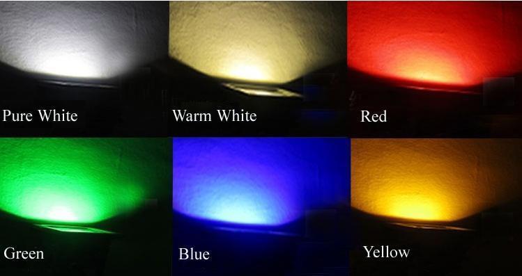Outdoor 10W 20W 30W 50W 100W RGB Led Flood Light Colour Changing Wall Washer Lamp IP65 Waterproof + 24key IR Remote Control LED lighting