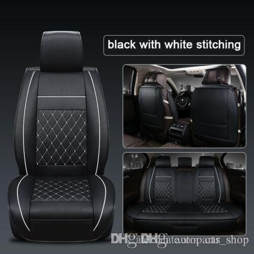 05+ FRONT GREY HEAVY DUTY PAIR CAR SEAT COVER SET AUDI A4 CABRIOLET