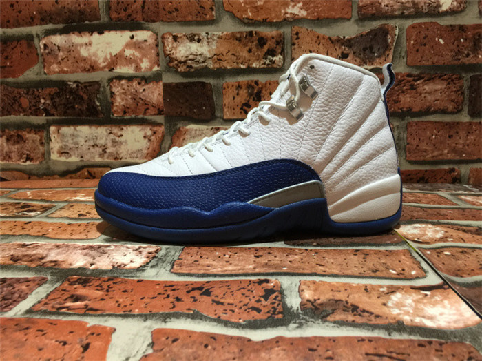 New platform triple 12s Dark Grey Game Royal FIBA Game Ball OVO White Playoff Men Basketball Shoes 12 Blue French Blue CNY Sneakers With Box