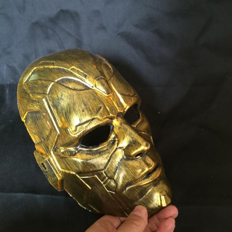 Mask Mask Head Man Costume Masquerade Silver And Vintage Stone 2 Retro Full gold Clour Halloween Cosplay home003 AxTpO