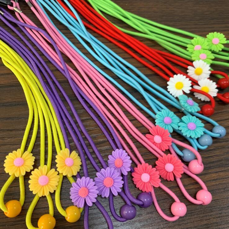 Masks Extension Buckle Daisy Adjustable Face Mask Lanyard Convenient Safety Mask Rest Ear Holder Rope Masque Candy Color Masks Buckle YL228