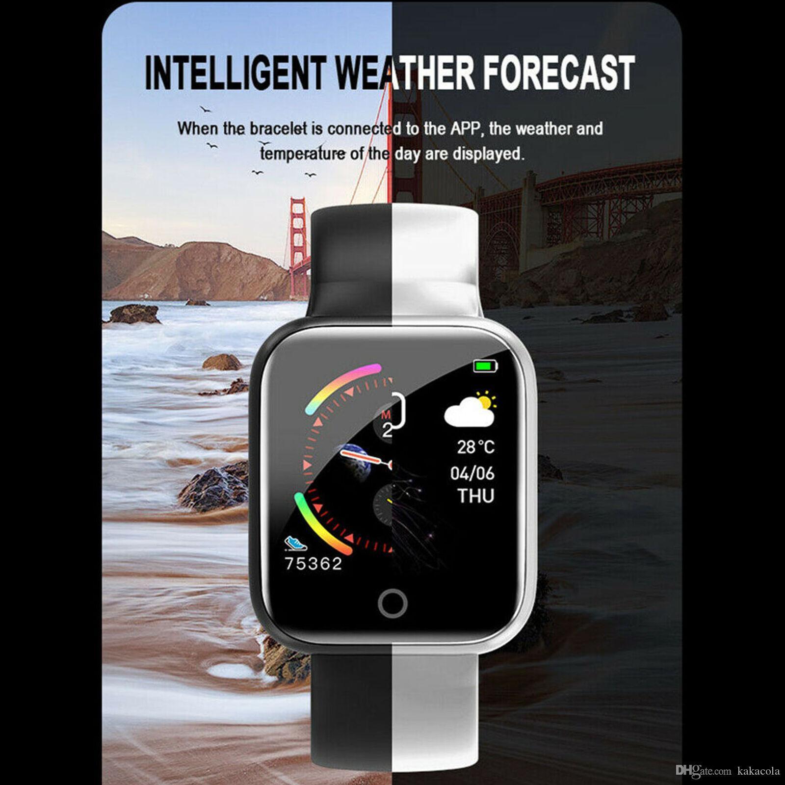 I5 BT 4.0 Smart Watch Waterproof Heart Rate Monitor Fitness Tracker Blood Pressure Multiple Sport Mode Smart watch Wristband