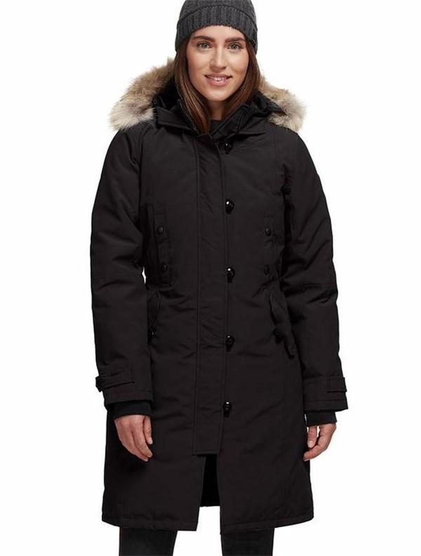 2020SS New Arrival Women's Canada Kensington down parka Black Navy Gray Jacket Winter Coat/Parka Fur sale With online