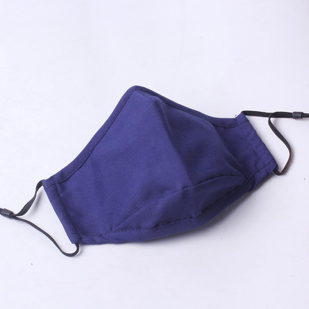 Valve Face Masks Reusable Dustproof Windproof Washable Filter Mask Replacable Filter Valve Respirator Cloth Cotton Face Mask Free DHL