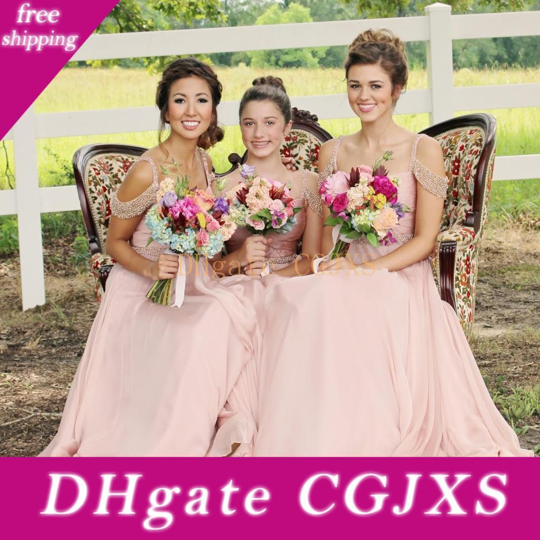 Wholesale Long Fancy Bridesmaid Dresses
