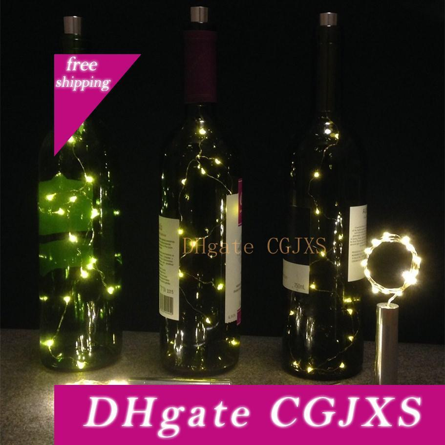 15 Led Starry String Lights Aa Battery Wine Bottle Lights With Cork For  Bedroom Party Table Decor Christmas Halloween Wedding Centerpieces Led  String Lights Battery Led Patio String Lights From Efwsssss, $2.16 