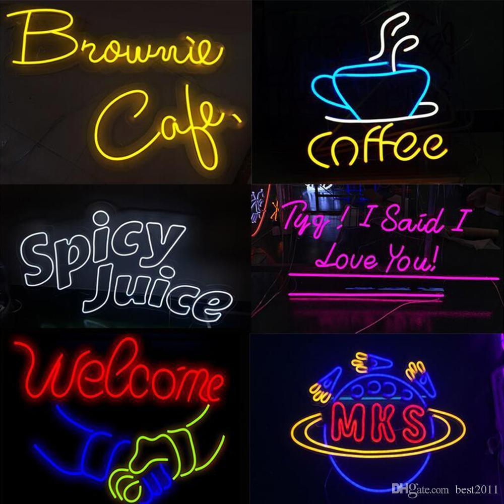 Waterproof Neon LED Light AC 110V 220V SMD 2835 Flexible Led Strip Light with Power Plug Outdoor Decoration Sign Advertising