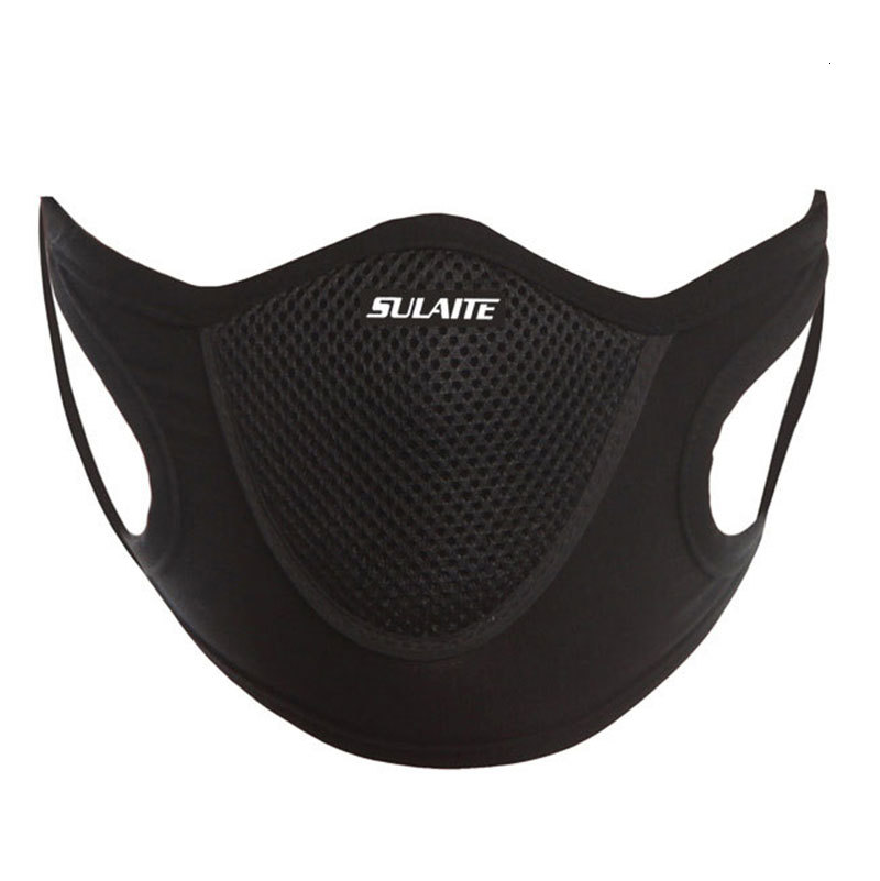 Dustproof Windproof Anti Dust Face Veil Ski Snowboard Skating Cycling Mask Reusable Breathable facecloth Sports Mesh Mouth Cover Sulaite