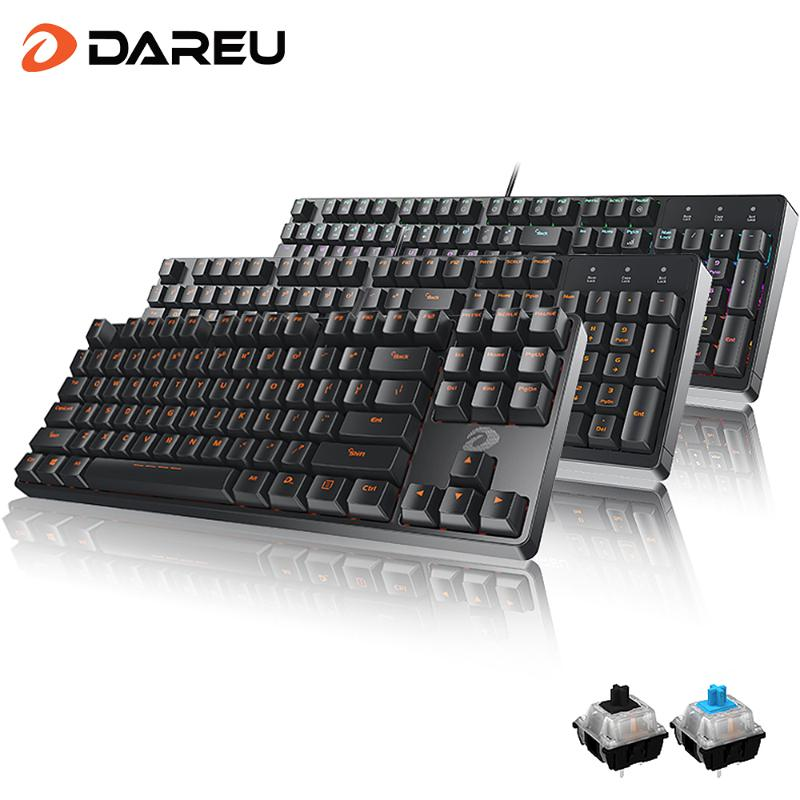 Jingfeng Mechanical Keyboard 24 Key Conflict-Free Design. Color : Black Black Tea Shaft Computer Keyboard 87-Key Chicken Keyboard