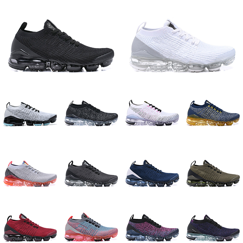 3.0 cushion chaussures mens running shoes triple white black men women trainer sports sneakers size 36-45