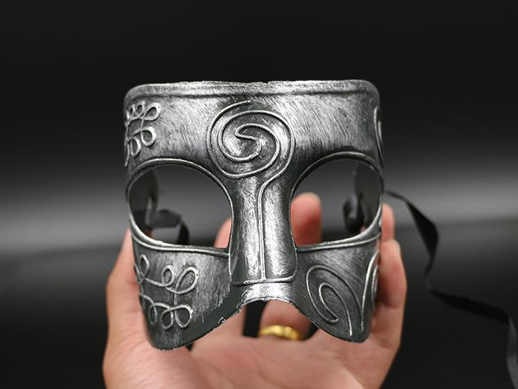 Masquerade Masks Halloween Costumes Halloween Mask Half Face Party Masks Masquerade Knight Prince Masks Mardi Gras Gifts