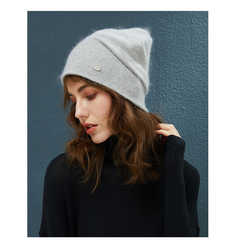 MOSNOW Female Beanies For Girls Cotton High Quality Hat Soft Fashion Accessory Winter New Headwear Brand Hats For Women3 (17)