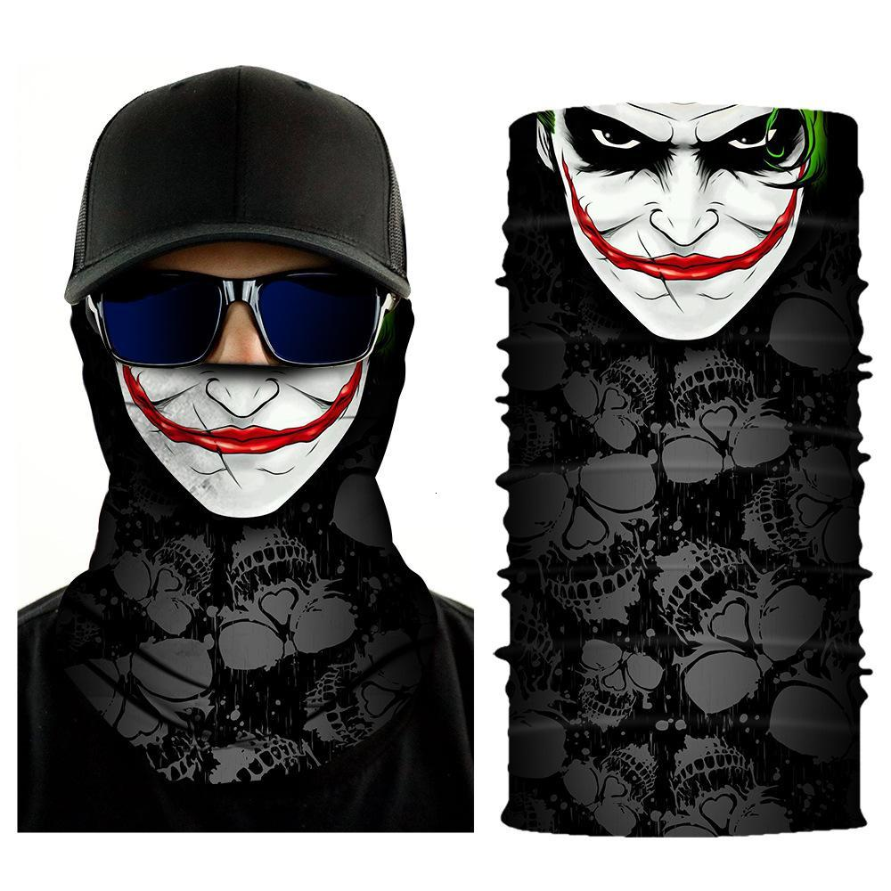 32 Styles Halloween Skull Face Mask Scarf Joker Headband Balaclavas Masquerade Masks For Ski Motorcycle Cycling Outdoor Sports HH9-3219