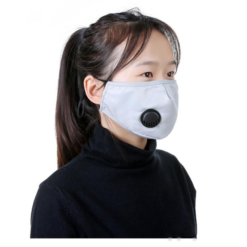Filter Folding Anti-dust Mask Breathing With Stereoscopic Self-priming Face Design With Activated Respirator Valve Carbon Pm2.5 Mask bHQRP