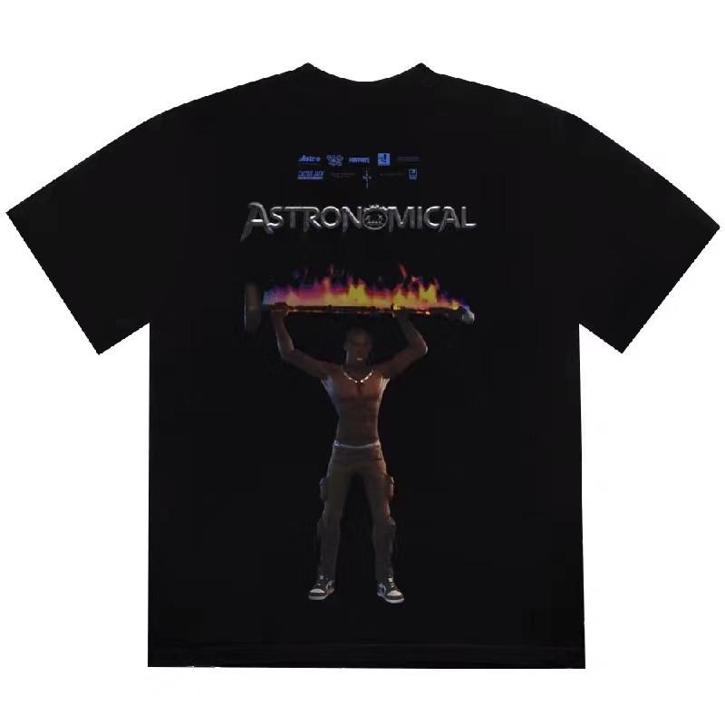 2020ss T-Shirt Men Women High Quality T Shirt Men Top Tees Black