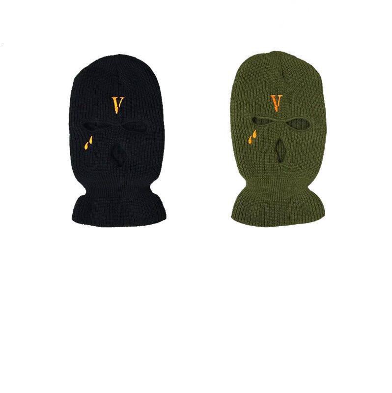 2019 New Hip Hop V POP STORE Guerrilla Shop Limits Bandit Heads to Wear Wool Caps and Cold Caps Dual-purpose Bandit Masks