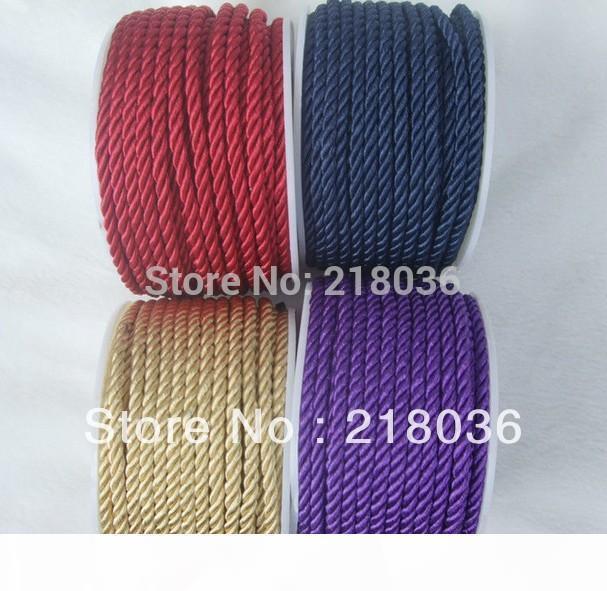 Cordón Trenzado Tejido Para Pulsera Collar Cable Accesorio de artesanía de joyería haciendo
