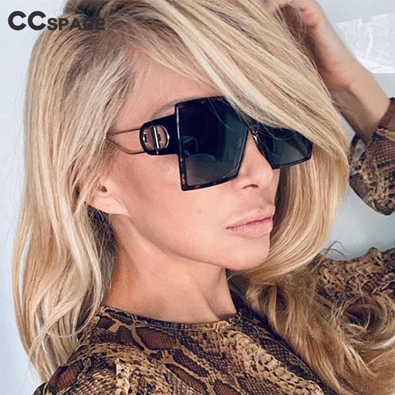 46371 Brand Design Luxury Square Sunglasses Men Women Fashion Shades UV400 Vintage Glasses