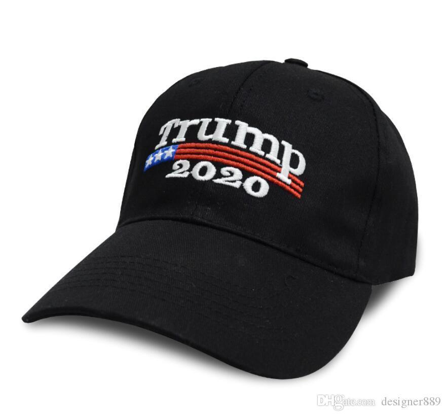 free ship Embroidery Trump 2020 Make America Great Again Donald Trump Baseball Caps Hats USA Flag Adults Sports Hat