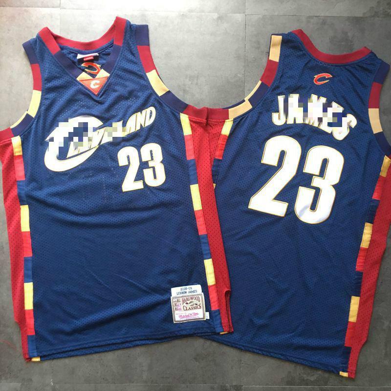 NBA Cleveland Cavaliers Lebron James 2008//09 Alternate Authentic Jersey Shirt