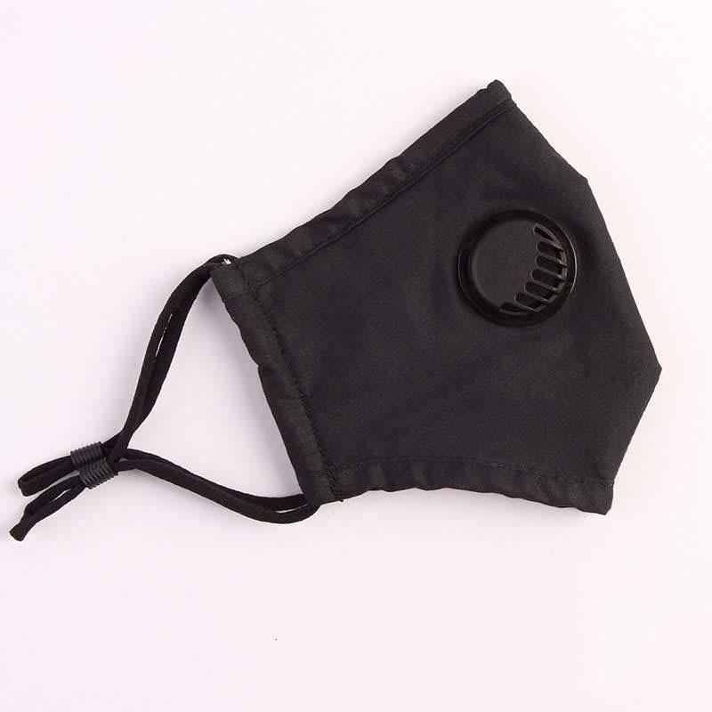 In Stock Fast Ship Kids And Adult Face Masks With breathing valve 3-Layer Designer Mask Dustproof Earloop Masks