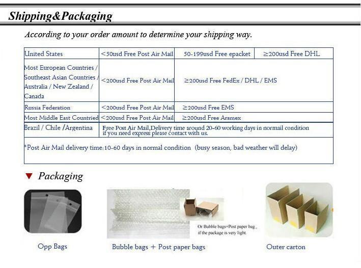 Shipping & Packaging
