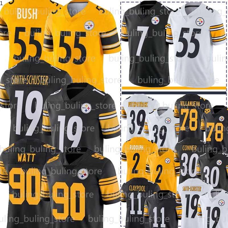 de secado r/ápido Camiseta de rugby de los Steelers 92# Harrison de f/útbol americano para hombre de manga corta camiseta de entrenamiento de atleta