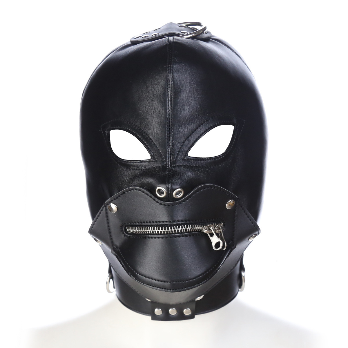 PU Adult Games Headhood Sex Products Sex Head Hoods Head Masks Adult Toys For Couple And Lover