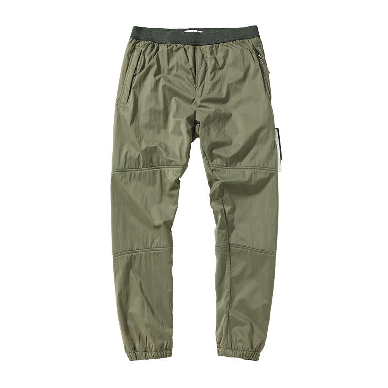 Men's Clothing Pant spring and autumn plush trousers mens jumpers pants famous brand men winter jogger thickening