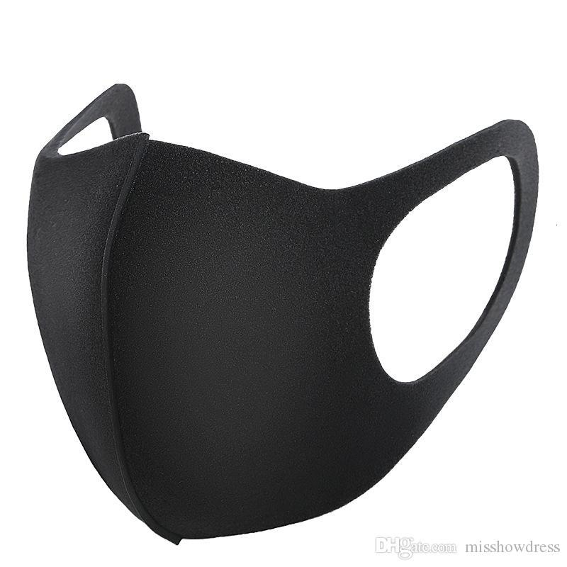 Fashion Washable Protective Face Masks Black Cotton Reusable Adult Kids Cycling Anti Dust Mouth Mask Children Cloth Masks FY9041