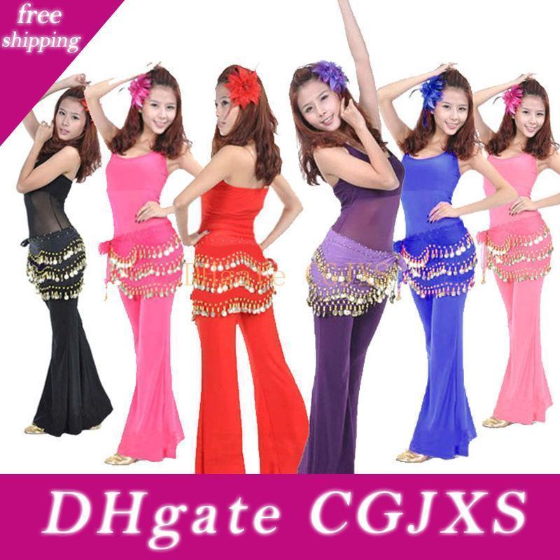 Belly Dance Dancing Triangle Shawl Wrap Hip Scarf Dancewear Costumes Waist Belt