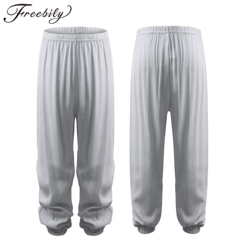 Boy Children Sport Jogger Loose Casual Boho Printing Harem Trousers Cotton Pants
