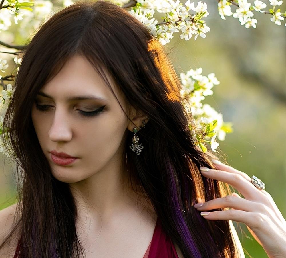 WE3875 octopus earrings women vintage gothic jewelry (3)