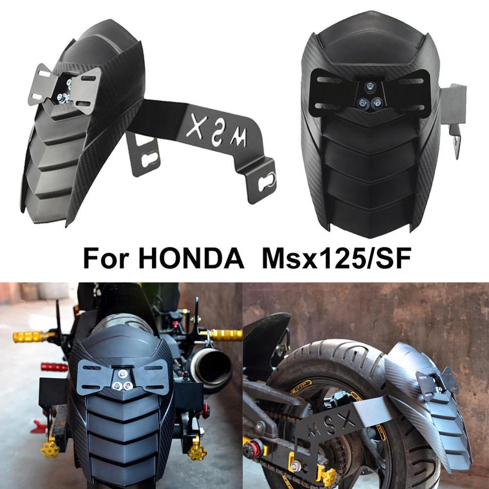 Motorrad Schutzblech Spritzschutzblech mit Halterung für HONDA MSX125