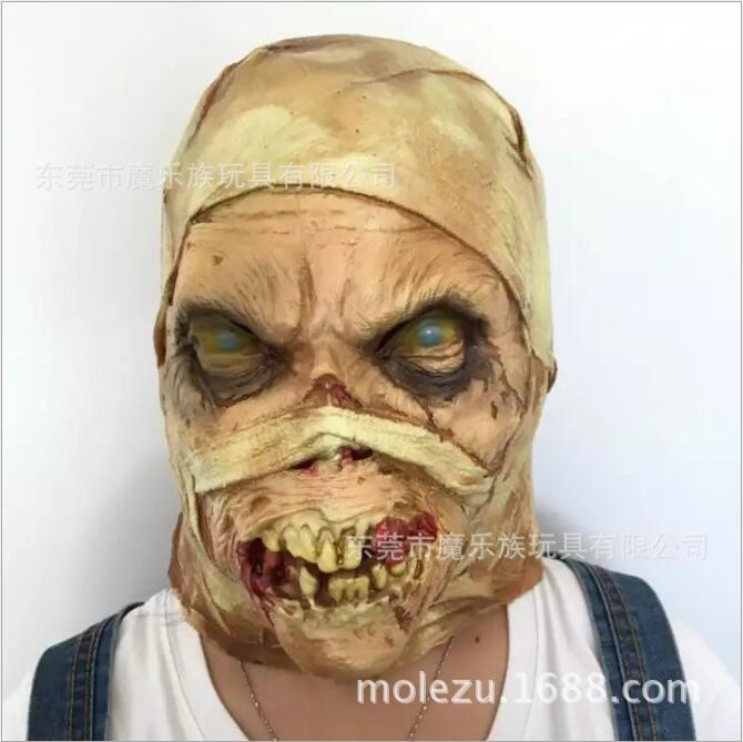 New Zombie mask Latex Accoutrements Mask Skull for party Halloween scary terror masks horror mascaras latex realista