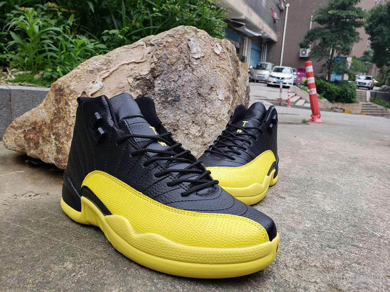 New Men Basketball Shoes 11 12 Yellow Bumblebee Space Jam Trainer sports sneaker Jumpman X Transformes 11s Mens Athletic Designer Shoes