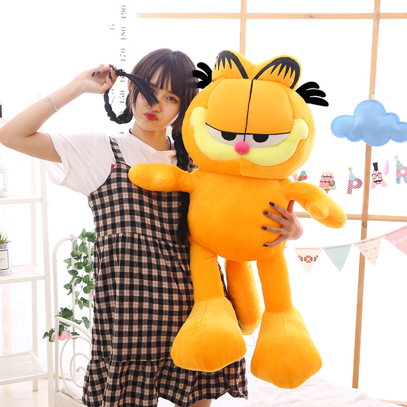 2020 Garfield Plush Toy Large Sleeping Pillow Cute Doll Gift Stall Doll Garfield From Yingxiuyang2 33 27 Dhgate Com