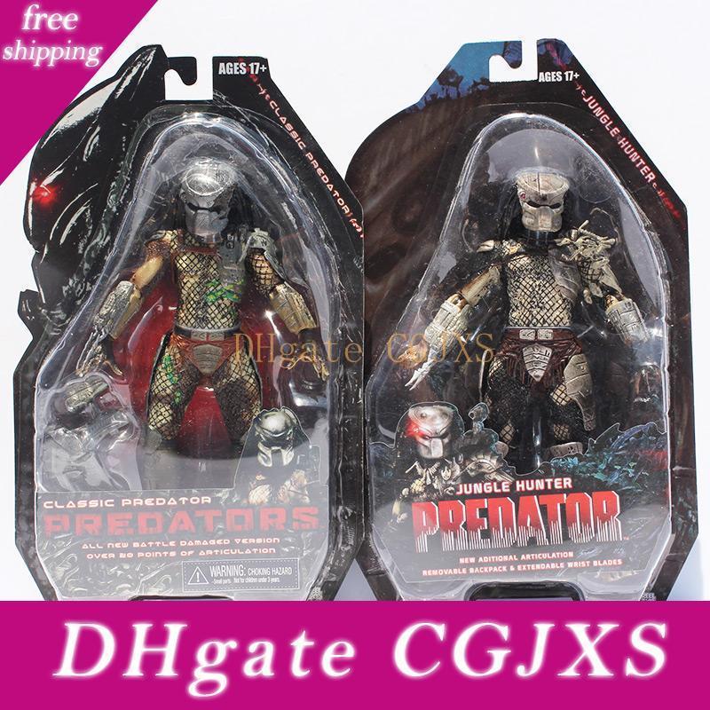 """ALIEN Movie Predator Jungle Hunter Figure PVC Collectible Doll 8/"""""""