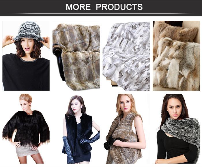 CUFF-2D Fashion Accessory Genuine Raccoon Fur Cuff