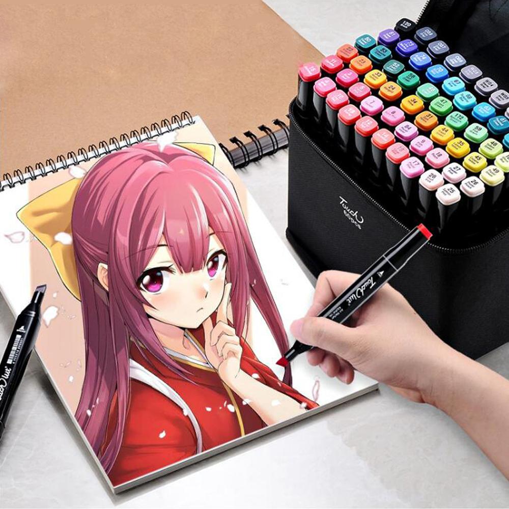 Copic Marcador Doble de 72 piezas juego clásico de doble B-marcadores Anime Comic Manga de artista