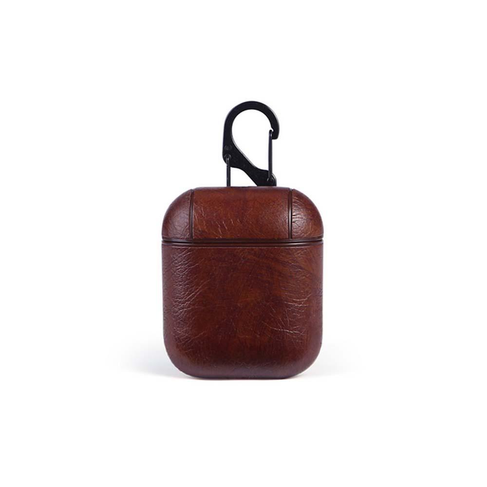 E3433-Earphone Case for Apple Airpod-brown